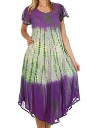 Sakkas Mika Ombre Floral Caftan Dress