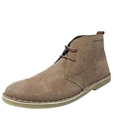 London Brogues  Caxton, Desert boots femme rose clair