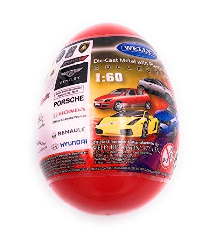 H-Customs Autos in Eiern Überraschung Porsche Ferrari Aston lizenzsiert 1:60 Modelle
