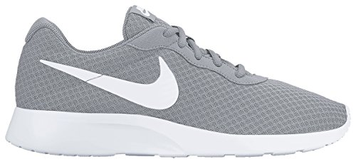 Nike Tanjun, Chaussures de Running Homme Multicolore (Wolf Grey/white)