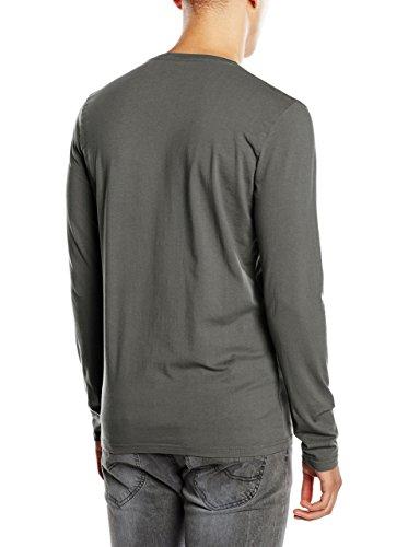 Pepe Jeans Herren T-Shirt Original Stretch V L Grau