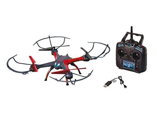 Preisvergleich Produktbild Revell Control RC Quadrocopter mit HD-Kamera, ferngesteuert mit 2,4 GHz Fernsteuerung, leicht zu fliegen durch Höhensensor, Gyro, wechselbarer Akku, Flip-Funktion, Geschwindigkeiten - ARROW QUAD 23897