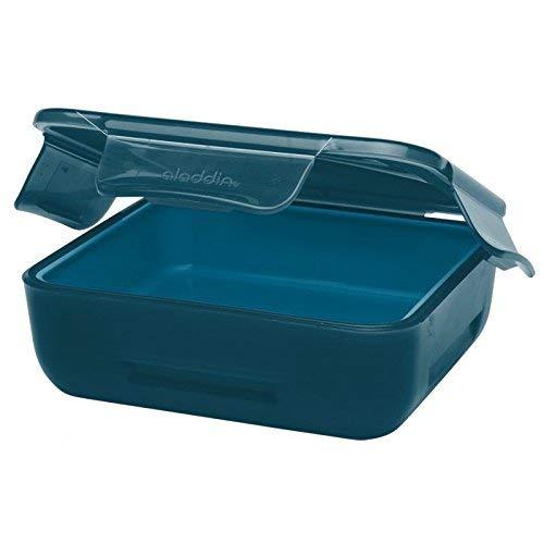 Aladdin 32402 Boîte à encas isotherme pour enfant avec coussinet réfrigérant Bleu marine