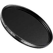 Neewer 52mm filtro infrarrojo infrarrojo 760nm filtro para Nikon Canon DSLR Cámaras, apto para detección de la delincuencia, médicos fotografía