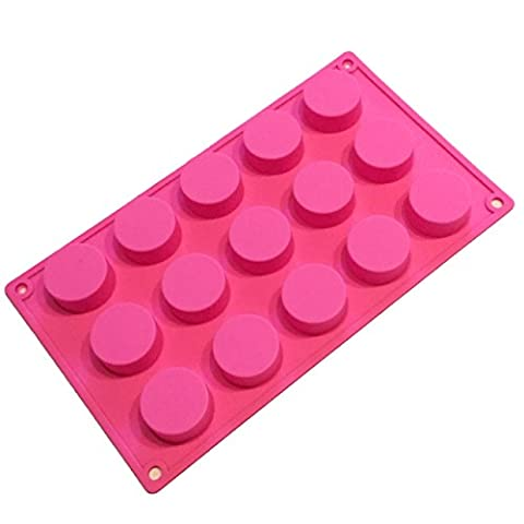 Silicone molded easy-to-use Basic-to-oval like rectangle made of hand-made (circular)