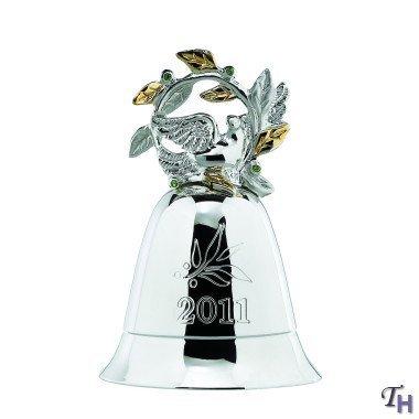 Lenox Christmas Annual 2011 Musical Silverplate Bell by LENOX CHRISTMAS