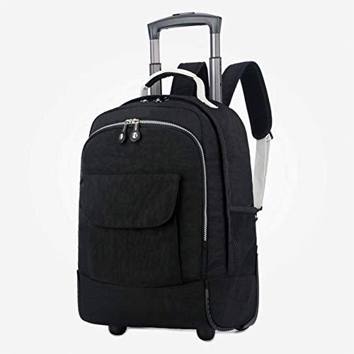 HBHJG Trolley Rucksack Rucksack mit fahrbarer Business-Tasche Laptop-Rucksack auf Rädern Kabine an Bord.Geeignet für 15