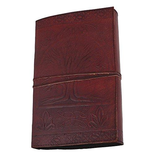purpledip-diario-agenda-in-pelle-decorato-societa-o-personale-memoir-albero-della-saggezza-bodhi-lj0