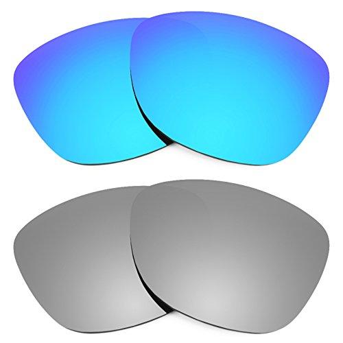 Revant Ersatzlinsen für Oakley Frogskins Polarisiert 2 Paar Kombipack K004