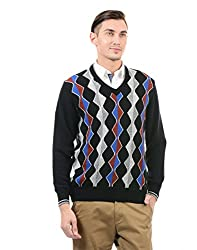 Monte Carlo Men Casual Pullover(_8907678060621_Black_42_)