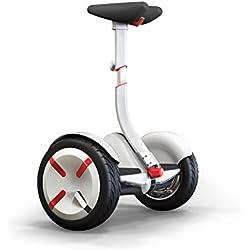 miniPro de Segway- Transporte Personal con Auto Equilibrio, 18 Km/h, Control a Través de la App, eScooter, Movilidad Eléctrica, Vehículo Eléctrico (Blanco)