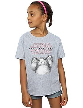 Star Wars Niñas The Last Jedi Porgs Camiseta