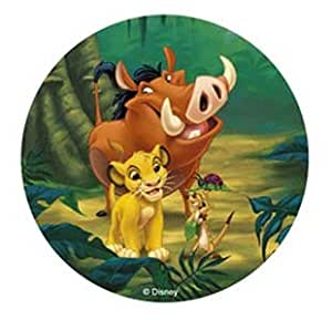DISNEY THE LION KING CAKE TOPPER 21 CM EDIBLE WAFER / RICE ...