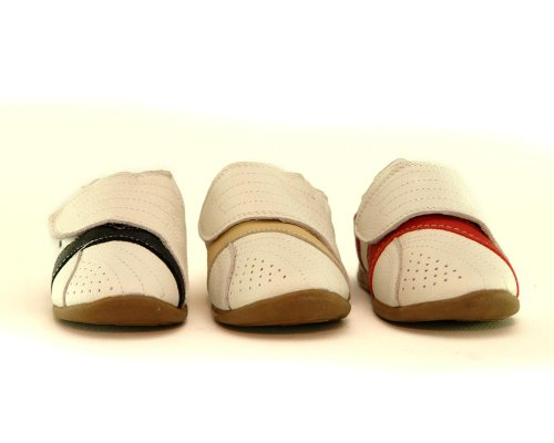 Becker-Schuhe , Baskets pour garçon Beige Beige 22 Noir - Noir