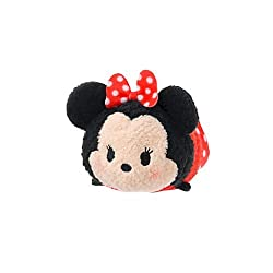 Disney Minnie Mouse ''Tsum Tsum'' Plush - Mini - 3 12'' By Disney Store