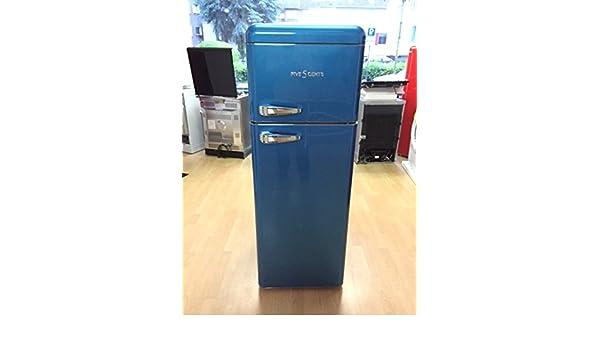 Retro Kühlschrank Five5cents : Retro kühlschrank eis blau glanz a kühl gefrierkombi sl 208