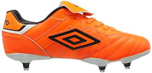Umbro Speciali Eternal Premier Sg, Chaussures de Football homme Orange - Orange (Shocking Orange/Black/White)