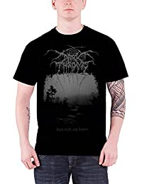 Darkthrone T Shirt Death And Beyond band logo offiziell Herren Schwarz