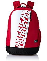 American Tourister 28 Ltrs Red Casual Backpack (AMT TWIST BACKPACK 01 - RED)