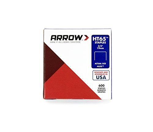 Arrow 160507 Boîte de 600 Agrafes HT65 19 mm