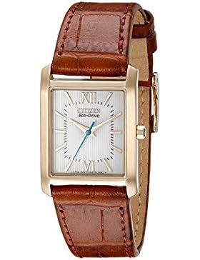 Citizen Damen-Armbanduhr Analog Quarz Gold EP5918-06A