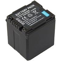Troy - Batterie Li-Ion pour Panasonic VB-VBG260 (info chip) HDC-SD1, HDC-SD3, HDC-SD5, HDC-SD7, HDC-SD10, HDC-HS100, HDC-SD100, HDC-SD600, HDC-SD707, HDC-SX5, HDC-DX3, HDC-DX1, HDC-TM350, HDC-HS700, HDC-TM700, VDR-D310, VDR-D250, VDR-D300, VDR-D400, VDR-M70K, VDR-M30K, VDR-M95
