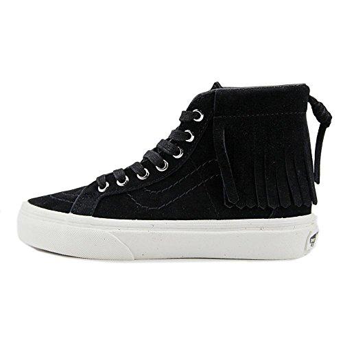 Vans Unisex-Kinder Sk8-Hi Moc High-Top (suede) black/blanc de bl