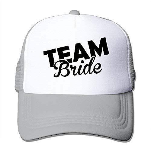 Sdltkhy Adult Team Bride Groom Trucker Hats,Unisex Mesh Caps,Snapback Baseball Cap Hat Multicolor9 Fußball Mesh Trucker Hat-cap