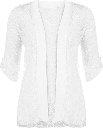 Islander Fashions - Gilet - Femme Blanc