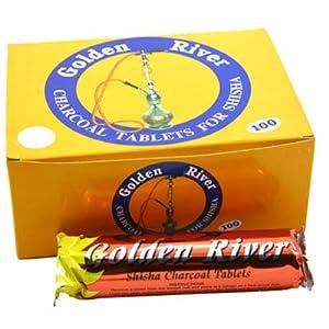 Golden River Räucherkohle für Garten und Haus und für Shisha