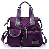 Tragbare Reisetasche Neue europäische und amerikanische Mode Damen Mummy Bag Nylon Umhängetasche