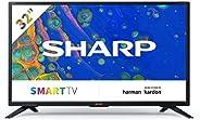 SHARP 32BC6E Smart TV 81 cm (32 Zoll) HD Ready LED Fernseher (Harman Kardon, HDMI, HD Tuner) [Modelljahr 2019]