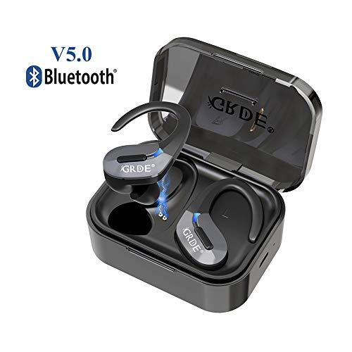 Auricolari Bluetooth 5.0 Sport Cuffie Wireless Senza Fili Stereo 35 Ore di Riproduzione HD Microfono...
