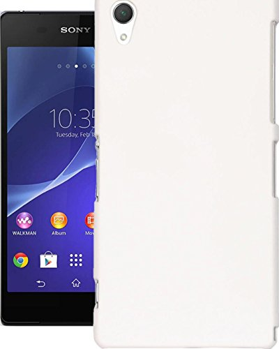 Cubix® Xperia Z2 Case, Super Slim Hard Back Cover for Sony Xperia Z2 White  available at amazon for Rs.290