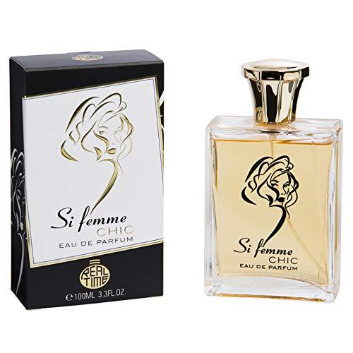 Real Time Eau de Parfum pour Femme Si Femme Chic 100 ml