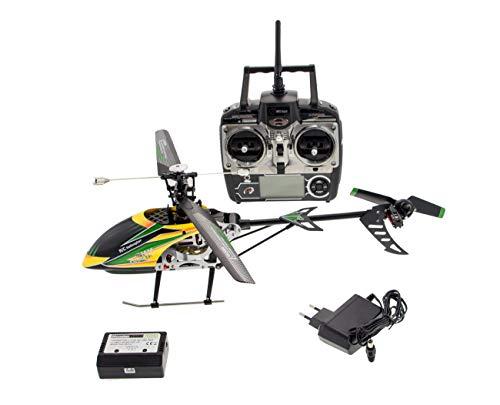RC Helicopter Monstertronic, MT200, 2.4 GHz 4-Kanal Single Hubschrauber, Gyro (Rc Hubschrauber Single)