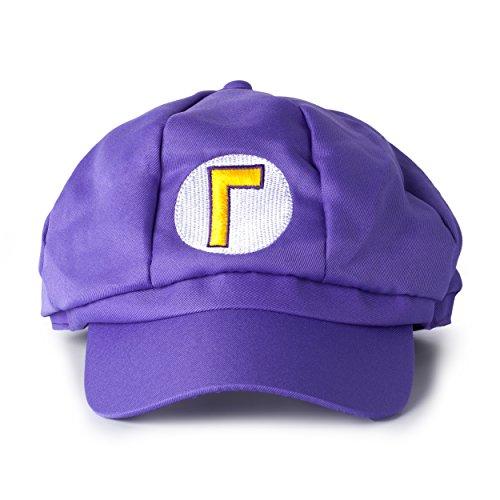 Imagen de katara  gorra para disfraz de super mario bros para niños y adulto, color morado alternativa