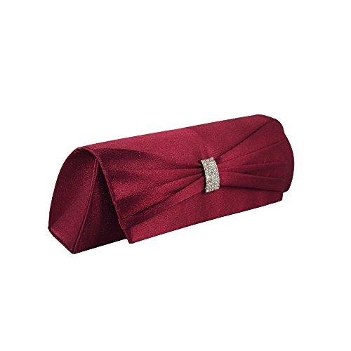 XPGG - Borsetta senza manici donna Nero (rosso)