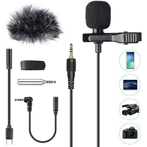 ¿Está buscando un micrófono de teléfono celular de calidad con buena grabación, mayor compatibilidad, larga cola y fácil transporte? Mirar por encima,AGPTEK Z02C Mini Lavalier Micrófono es su mejor opcion. 1, Tiene un pequeño diseño de clip que se pu...