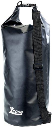 Xcase Wasserdichte Tasche: Wasserdichter Packsack 25 Liter, schwarz (Schwimm Tasche) (Tasche 25l)