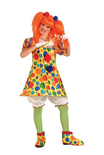 (Forum Novelties weiblich Giggles der Clown Kostüm)