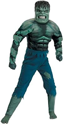 Hulk Classic Muscle Costume - Small by Disguise
