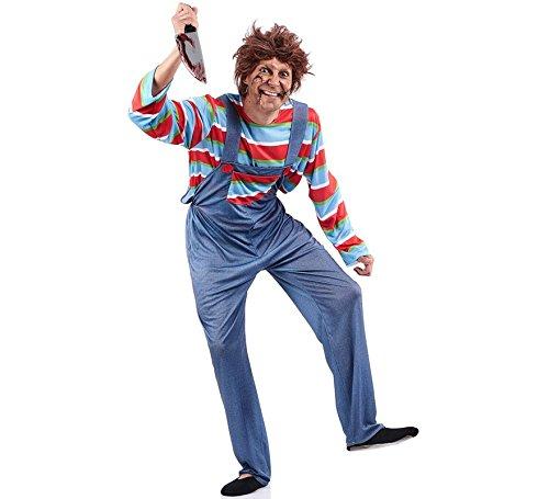 Imagen de disfraz de muñeco chucky para hombre