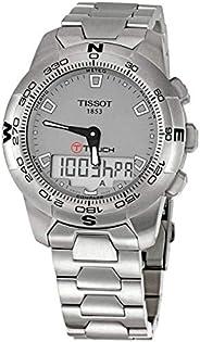 ساعة عملية كاجوال للرجال بعرض انالوج من تيسوت -T047.420.11.071.00