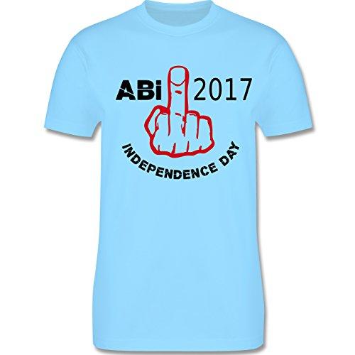 Abi & Abschluss - Independence Day - Abi 2017 - Herren Premium T-Shirt Hellblau