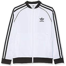 Adidas Superstar Chaqueta Unisex Para Niños Blanco/Negro De 13/14 Años