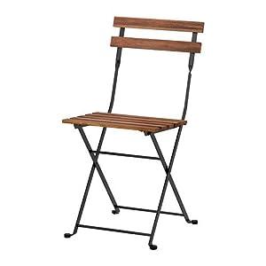 """IKEA sedia pieghevole """"TÄRNÖ"""" - Sedia da giardino in legno massiccio di acacia e acciaio"""