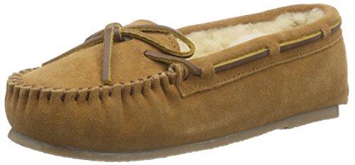 Pantofole Da Donna Ara Accoglienti Pantofole Marrone (natura -05)