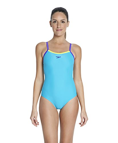 speedo-womens-thin-strap-muscle-back-swimsuit-adriatic-wild-lime-violet-size-28