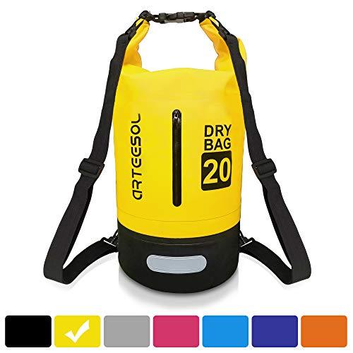 cksack Wasserdicht Taschen 5L /10L/ 20L/30L Mit Taille Schnallen Zum Strand Schwimmen Oder Wandern Schützen iPhone Kamera Dokument aus Wasser und dchmutz ()